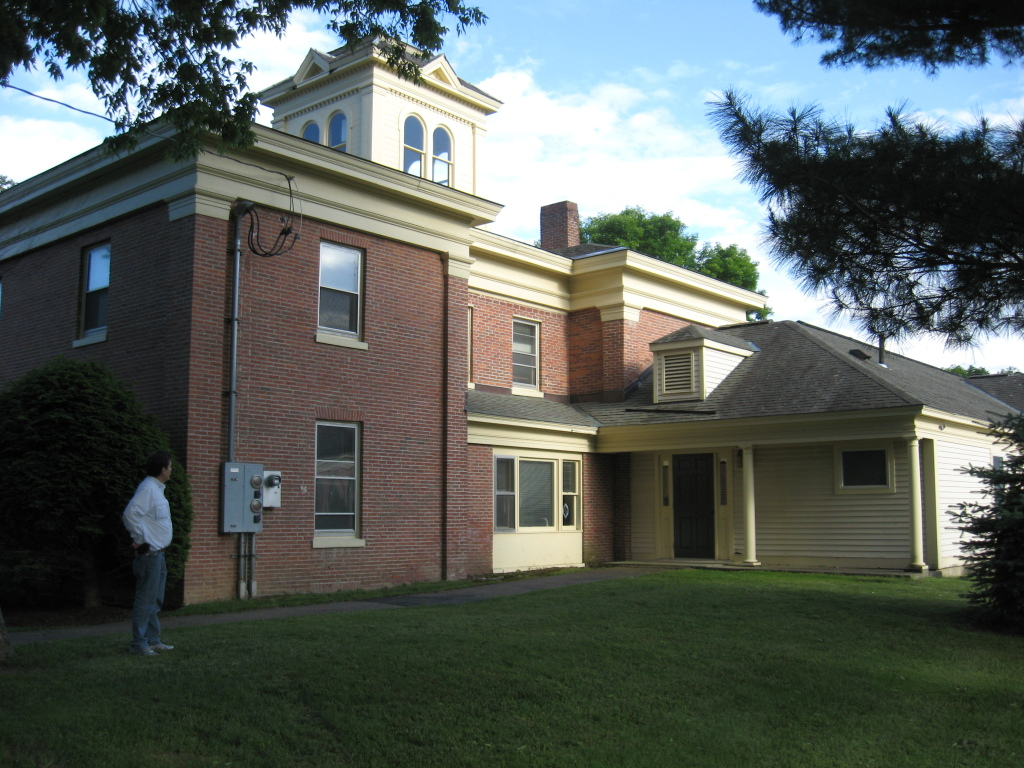 Prevel Hall in June, 2012.  Stoehr's old room is now an office.