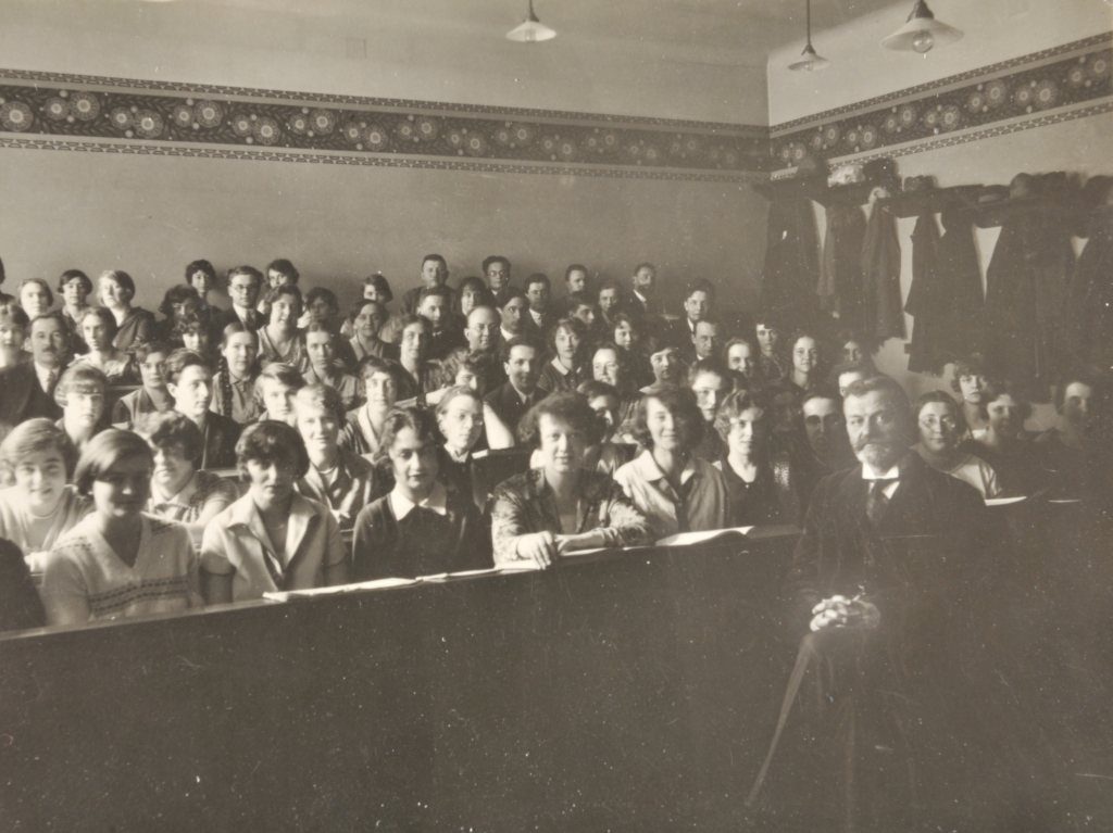 Richard Stöhr class photograph, Vienna Academy of Music, 1930's.
