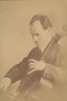 Walter Kleinecke, co-dedicatee of the Cello Sonata