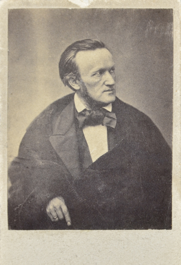 Richard Wagner, photograph that he gave to Samuel and Mathilde Stern when visiting their home.