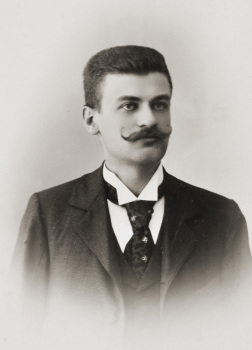 Richard Stöhr early 1900's, student at the Vienna Academy of Music.